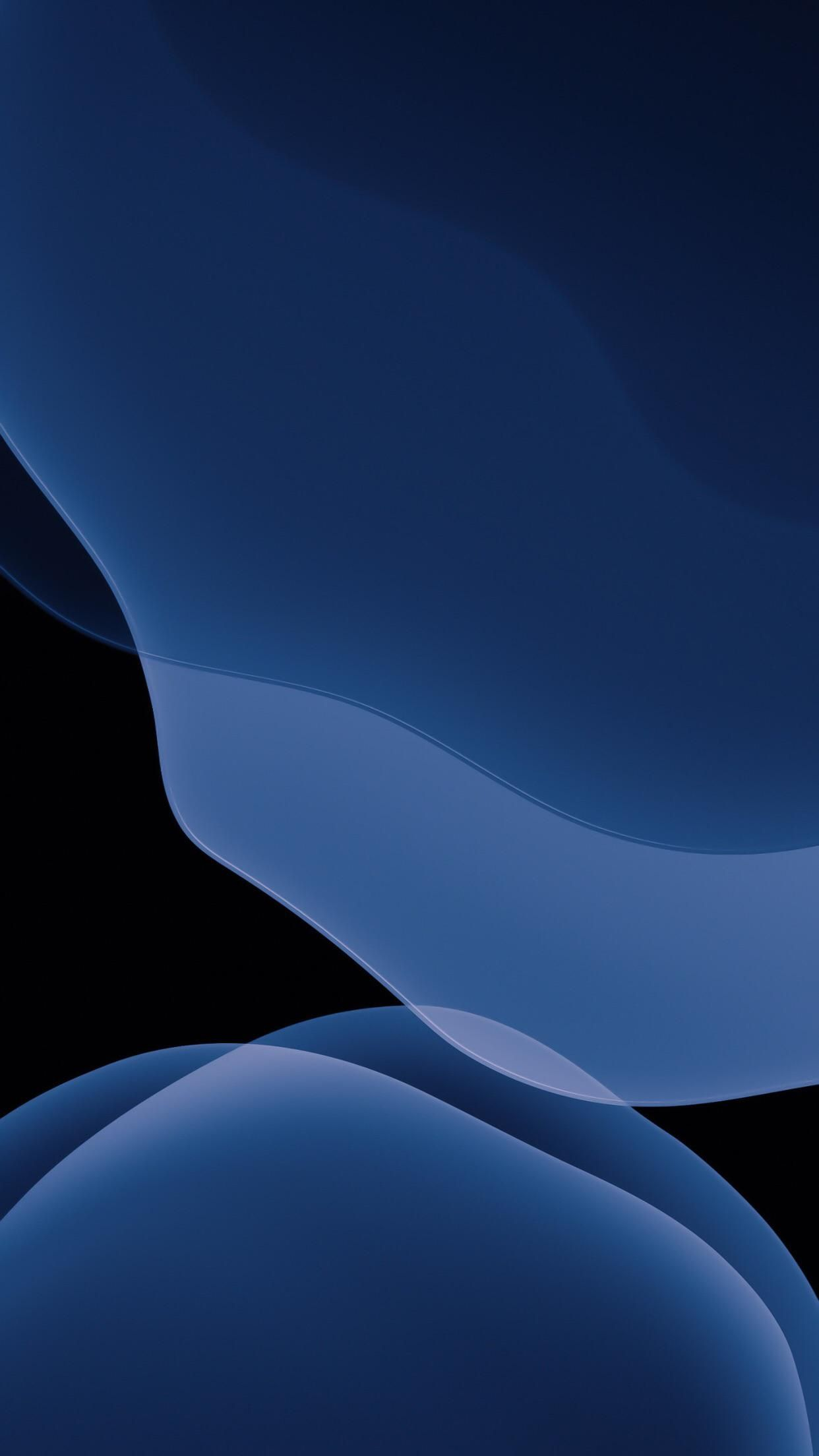 Ios 13 Stock Midnight Blue Dark For All Iphone Dark Phone Wallpapers Iphone Wallpaper Ios Apple Wallpaper Iphone