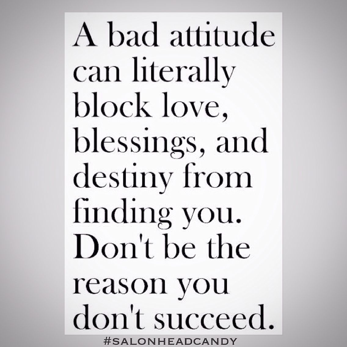 Bad Attitude Quotes How Often Do We See People With Great Potential That Have Let A