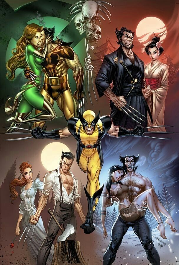 Wolverine by J Scott Campbell #comicbooks