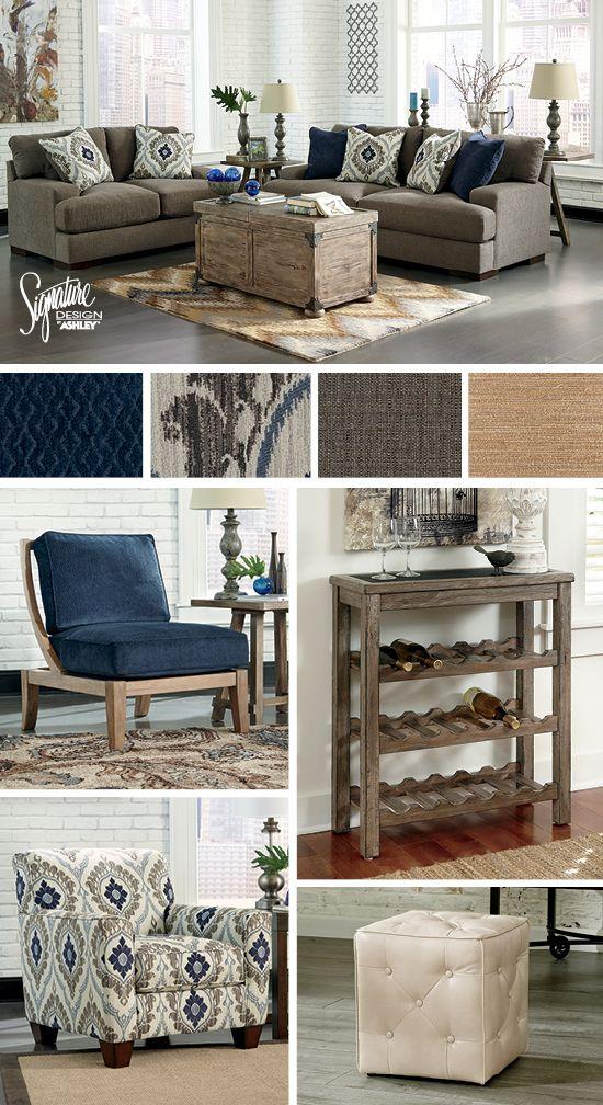 Casual And Vintage Furniture Styles   Carlino Sofa U0026 Loveseat   Ashley  Furniture
