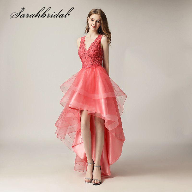 Encontrar Más Vestidos de baile Información acerca de Alta baja ...