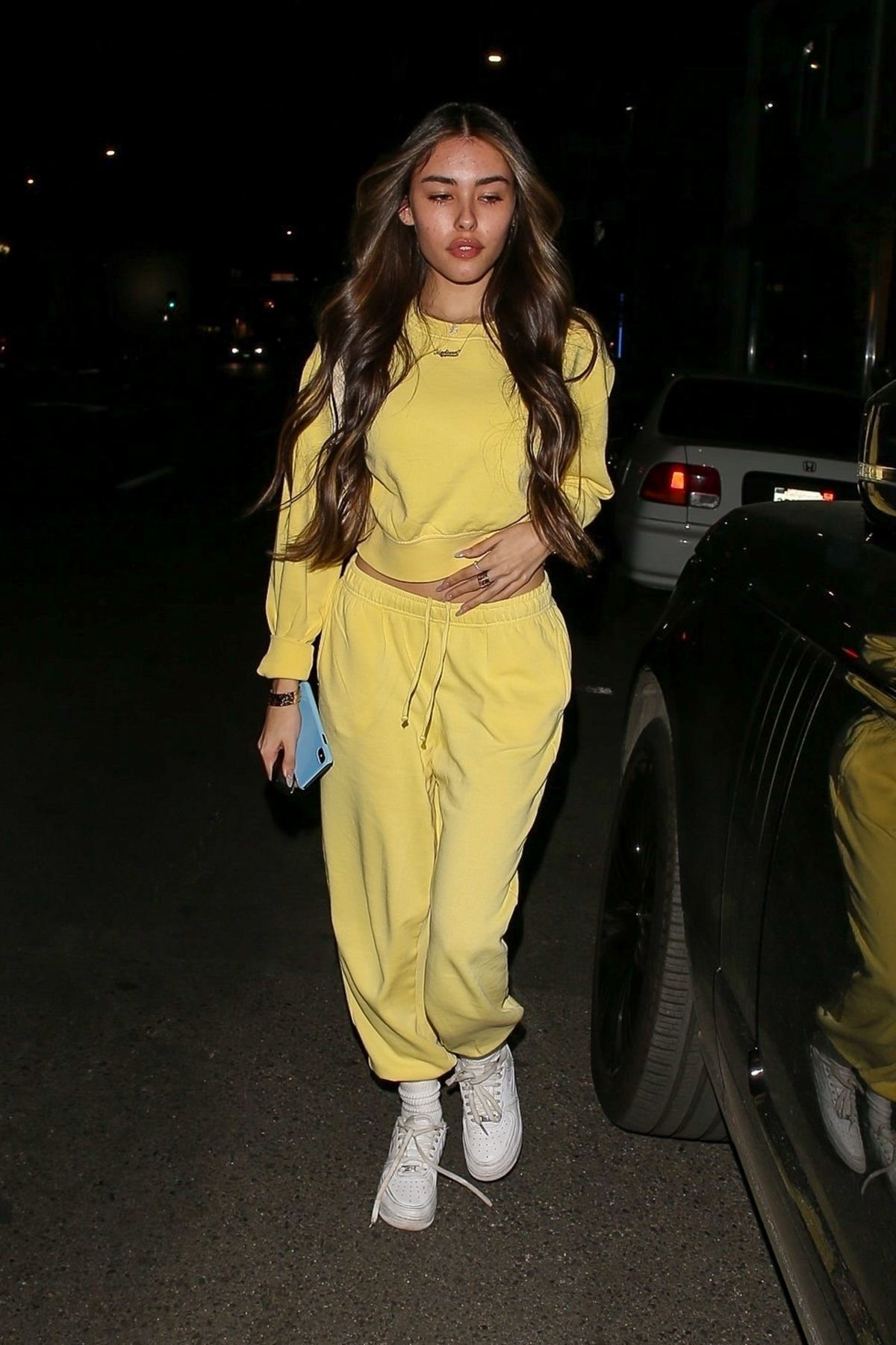 Madison Beer Leaves Alen M Salon in West Hollywood 02/26/2020. #fashion #outfits #celebrityfashion #celebritystyle  #celebritystreetstyle #streetstyle #streetfashion #models #hollywood #hollywoodlife