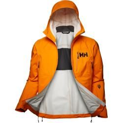 Photo of Helly Hansen Herren Odin 3d Air Shell Wanderjack Orange S.