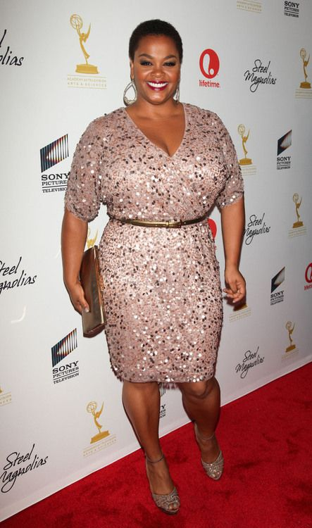 Jill Scott Liking This Dress