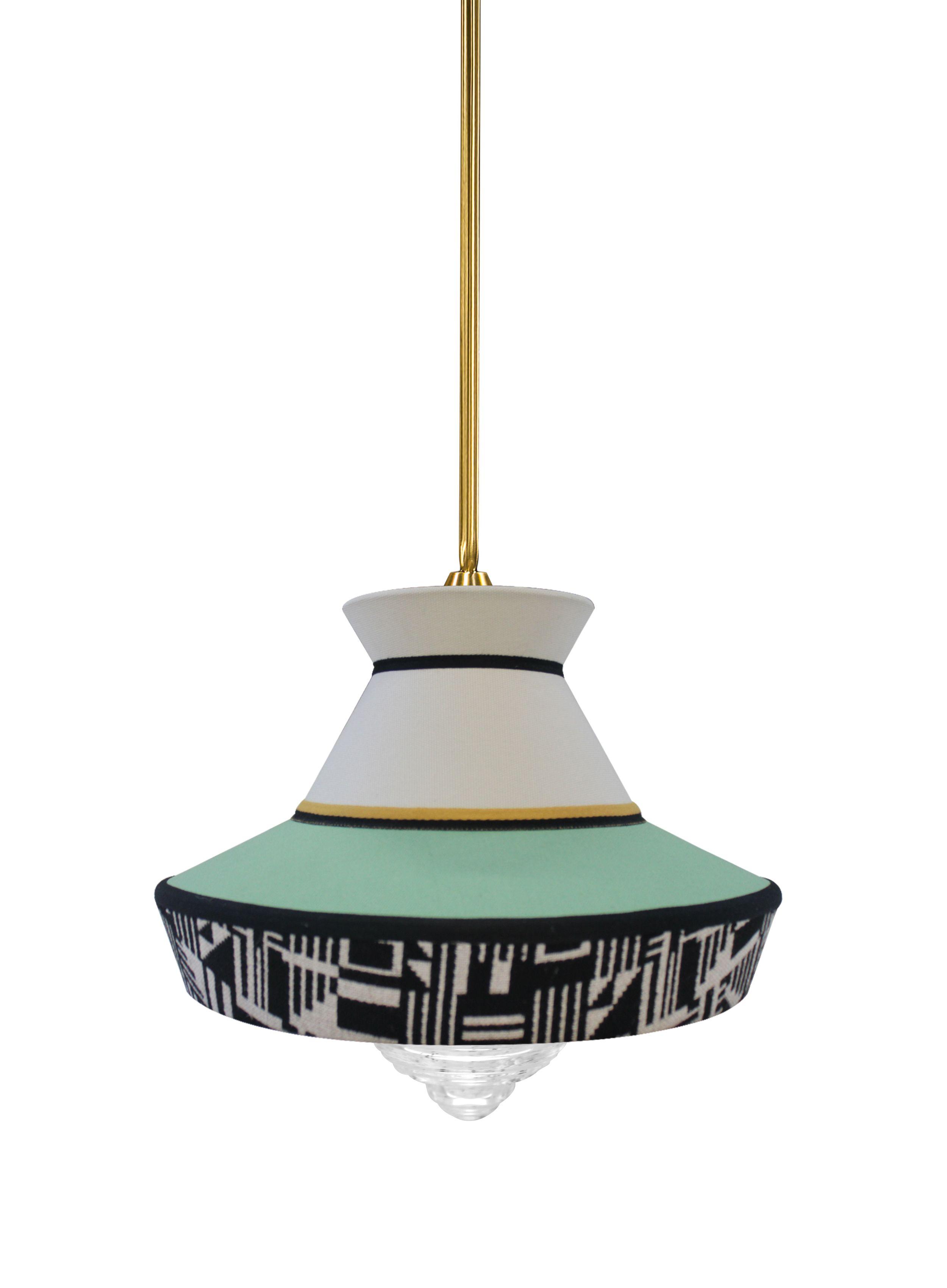 Calypso Guadalupe Pendant Light | Glass diffuser
