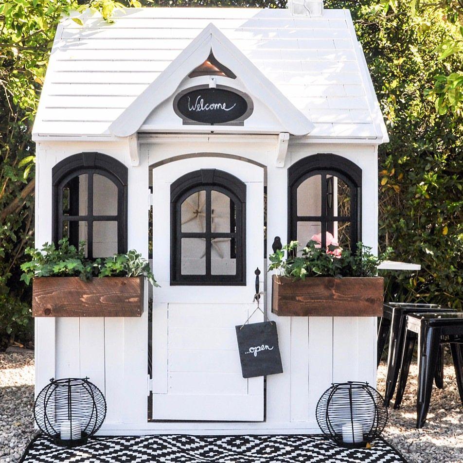 farmhouse chic playhouse