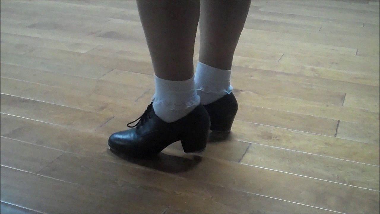 white ruffle socks | Dance shoes