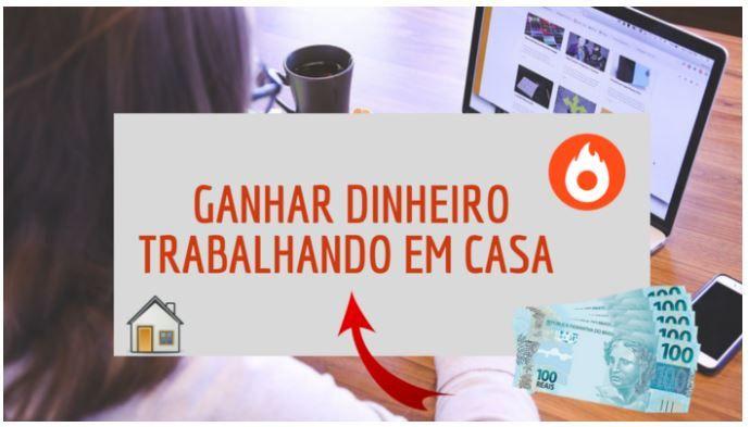 COMO GANHAR DINHEIRO TRABALHANDO EM CASA PELA INTE...