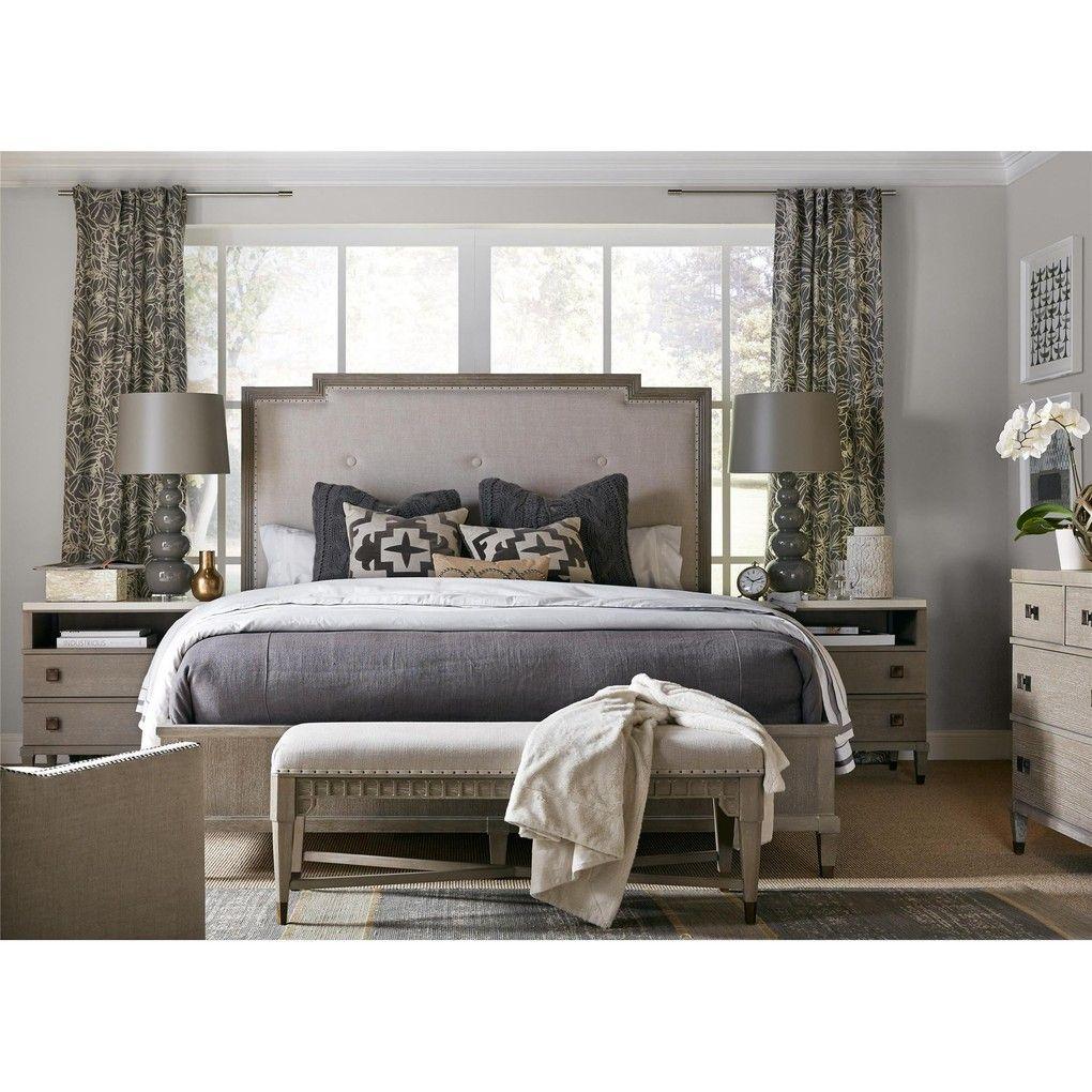 Two Drawer Nightstand  Universal furniture, Bedroom panel