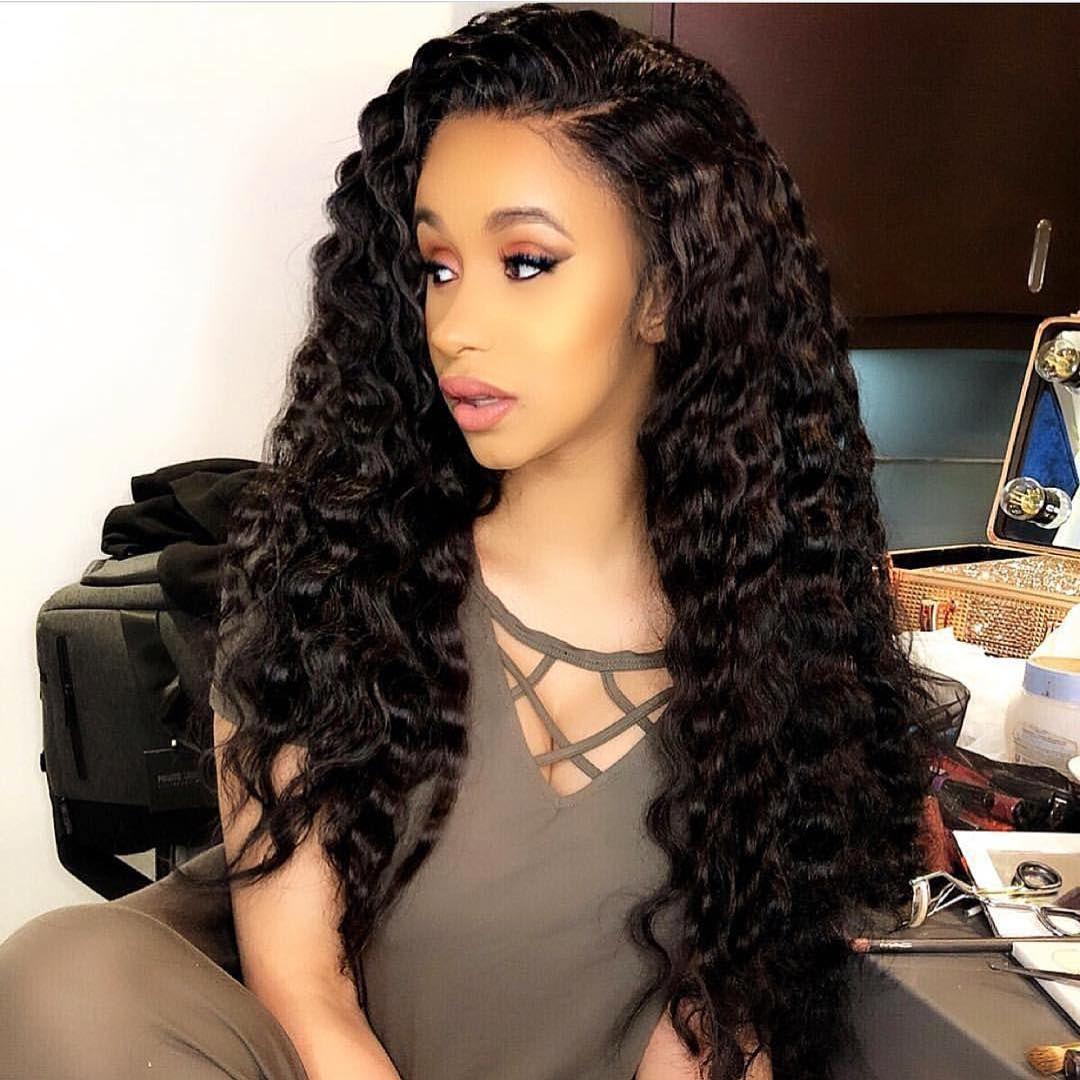Pinterest Bridgetx15 Like What You See Follow For More Cardi B Hairstyles Human Hair Wigs Cardi B