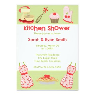 Invitaciones color rosa para te de cocina google search - Cocinas de color rosa ...