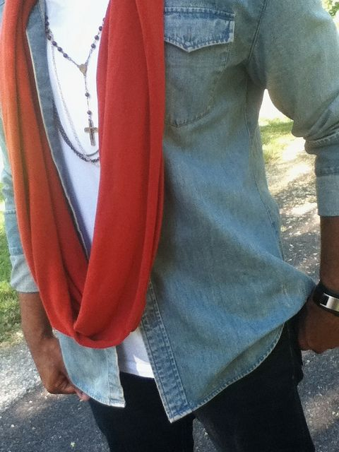NKHenry Convertible Scarf™ Fall 2013 unisex flavor. #mens #street #style #fashion