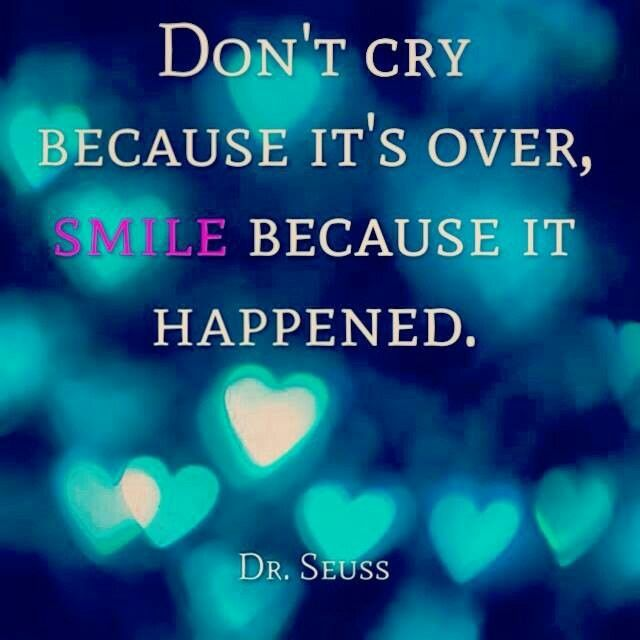 DON'T CRY BUT SMILE