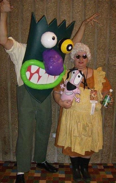 courage the cowardly dog costumes | Social Media | Pinterest