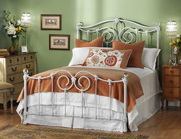 wesley allen eldridge iron bed - Iron Bed Frames Queen