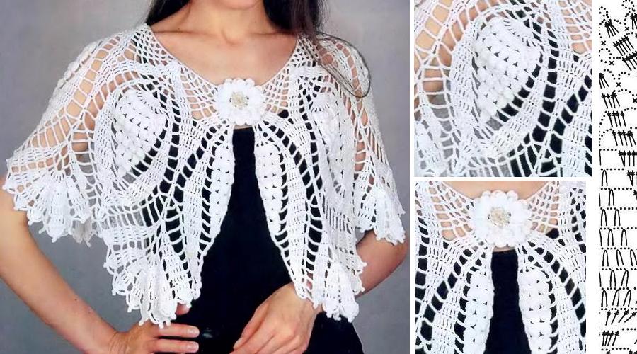 Hermosa capita en crochet con patrones | Poncho | Pinterest ...