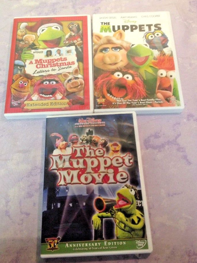 Muppets movie dvd lot a muppets christmas letters to santa muppets movie dvd lot a muppets christmas letters to santa spiritdancerdesigns Gallery