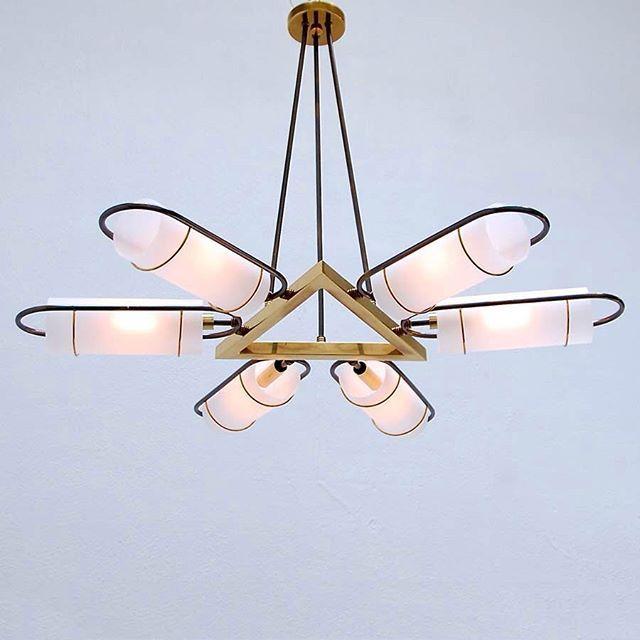 Good design 1950s italian chandelier by stilnovo via 1950s italian chandelier by stilnovo via thewhitearrow aloadofball Images