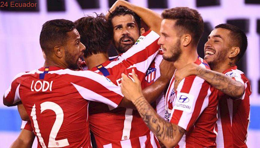 Atlético De Madrid Humilló 7 3 Al Real Madrid En Amistoso De Pretemporada Atlético Madrid Zinedine Zidane Zinedine Zidane Real Madrid