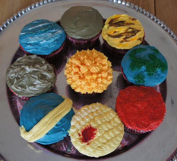 solar system planet cupcakes | For the Bug | Pinterest ...