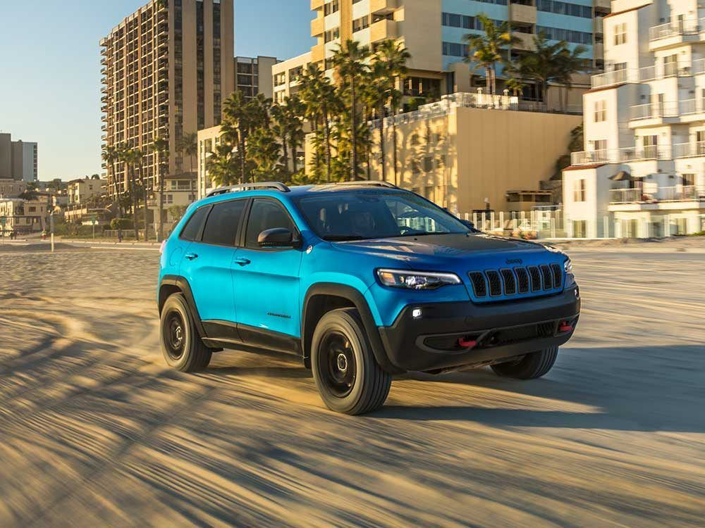 2019 Jeep Cherokee Trailhawk Overview Hero Jeep Cherokee Trailhawk Jeep Cherokee Jeep Cherokee Limited
