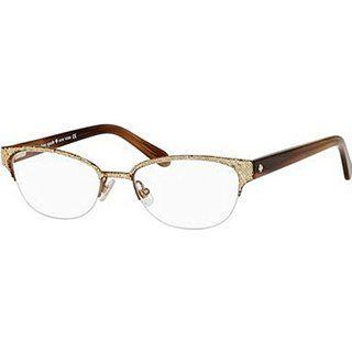 Kate Spade Shayla Eyeglasses-0W48 Glitter/Striated Brown -49mm