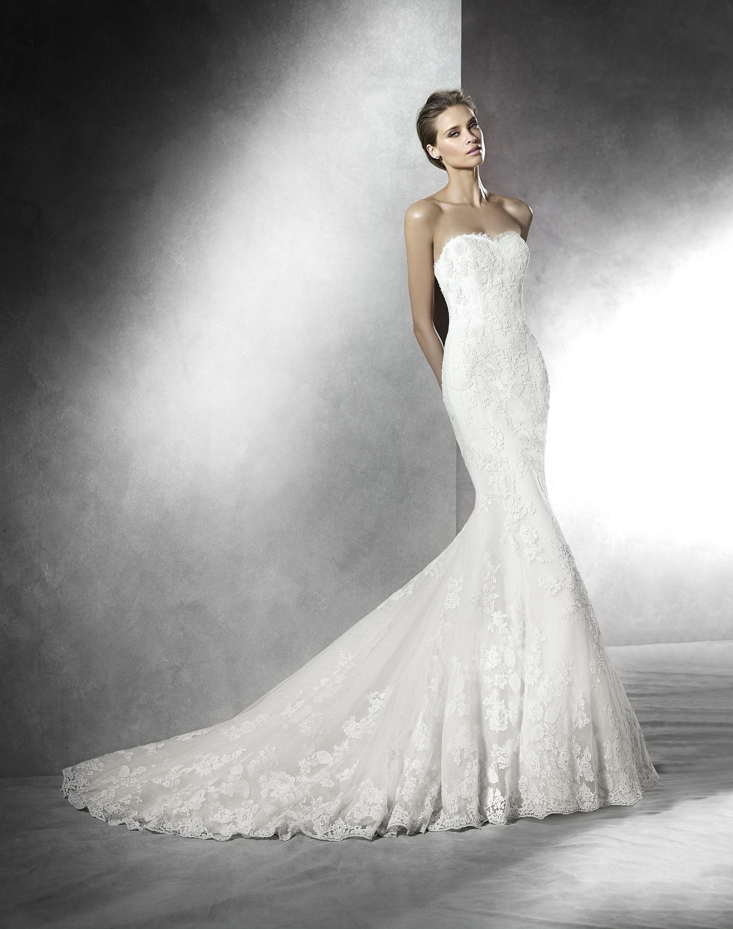 PRIMAEL  (Robes de mariée). Créateur: Pronovias. ...