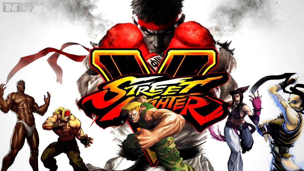تعلم اللعب بشخصية ريو ستريت فايتر 5 / street fighter v