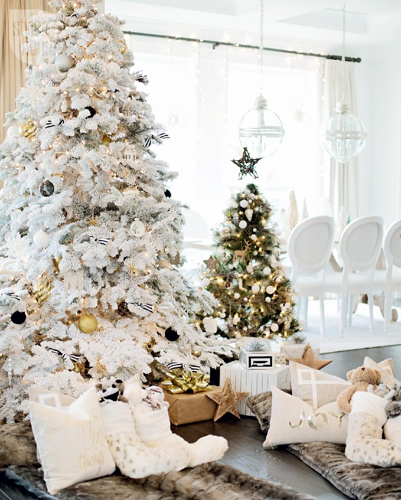 Michael Buble Weihnachten.Michael Buble Take Us Inside His Stylish Holiday Home Christmas