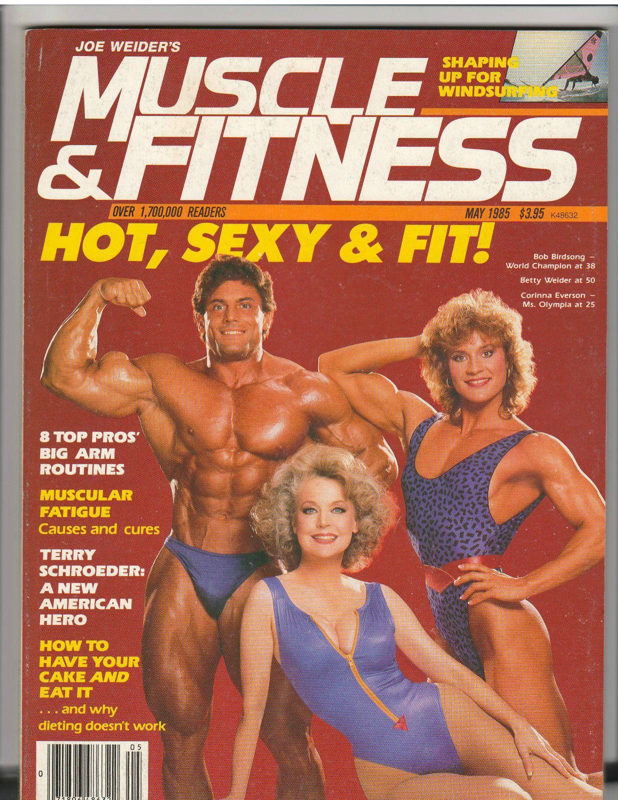 Muscle Fitness Bodybuilding Magazine Bob Birdsong Betty Weider Cory 5 85 Muscle Fitness Muscle Magazine Muscle