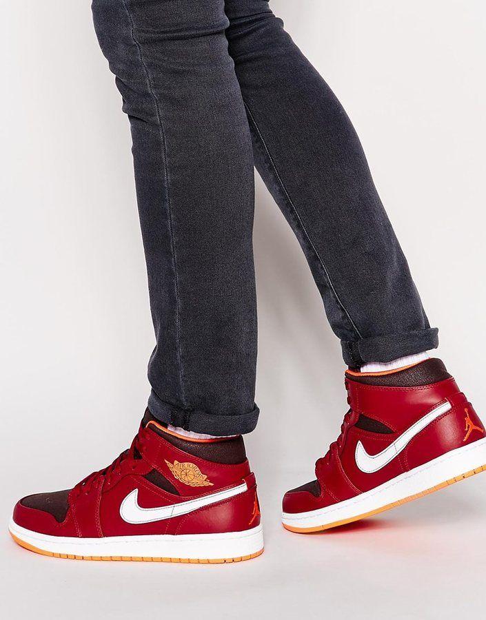 Jordan Nike Air Jordan 1 Mid Trainers
