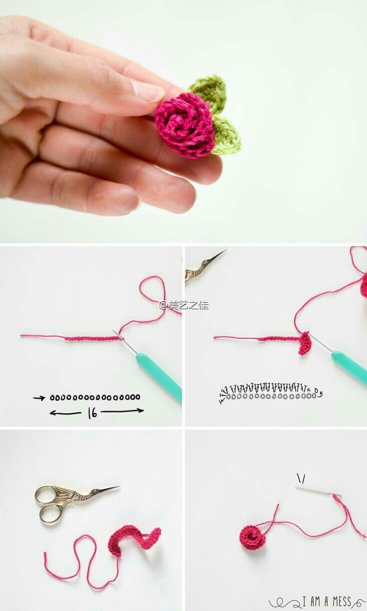 Pin de ねこ en 花レース編み | Pinterest | Ganchillo, Flor y Labores