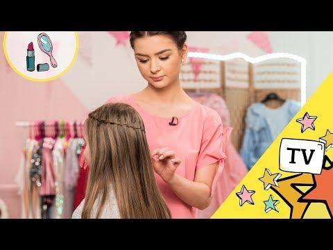 Kacik Piekna Fryzury Wodospad Na Włosach My3 Tv Dla Dzieci
