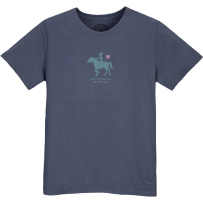 #Lifeisgood #Dowhatyoulike  LIFE IS GOOD!! :D     Womens Crusher May the Horse Be With You, True Blue