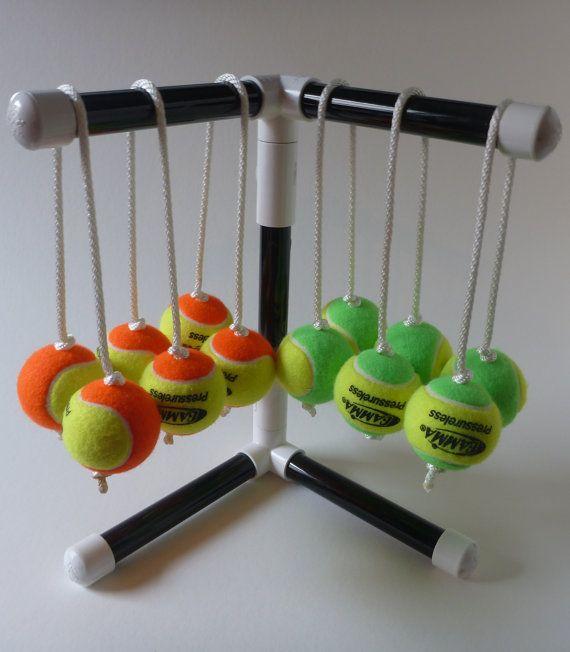 Texas Toss Ball Kit Works W Homemade Ladder Toss Ladder Ball