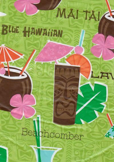 Hawaiian Tablecloths This Hawaiian Theme Vinyl