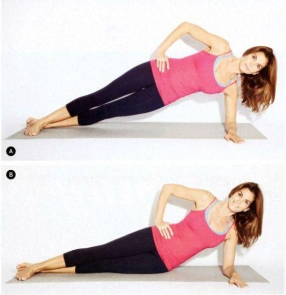 5 ejercicios de Cindy Crawford que pueden transformar tu ... Oblique Exercises Abe
