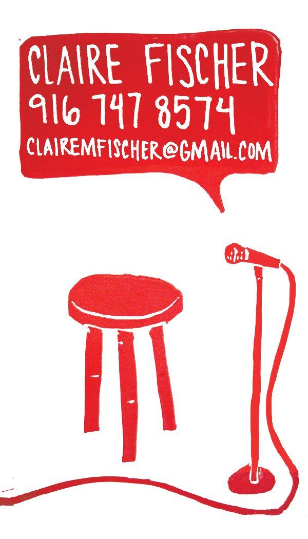 stand up comedian business card design | ❤️Comedians ...