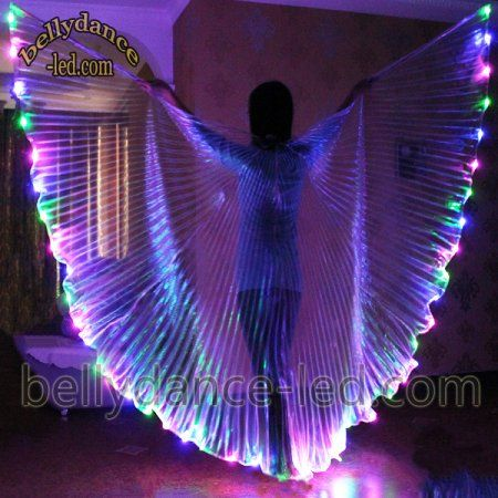 Pin On Led Isis Wings