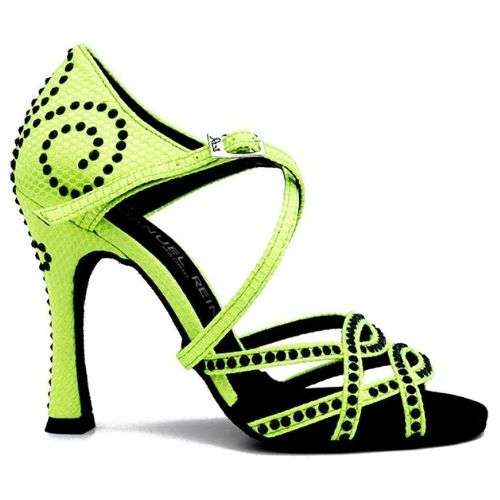ba6b7ac48f Zapatos Baile Fluor Party Latino Mujer Salsa Competition en 2019 ...