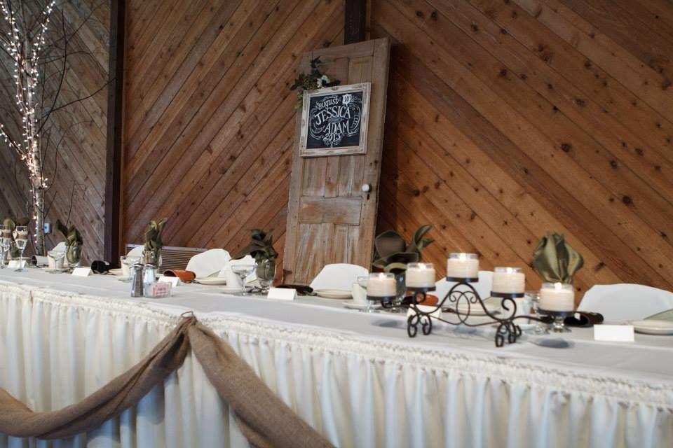 Head Table Decor Idea Help: Rustic Door For Head Table Backdrop, Wedding