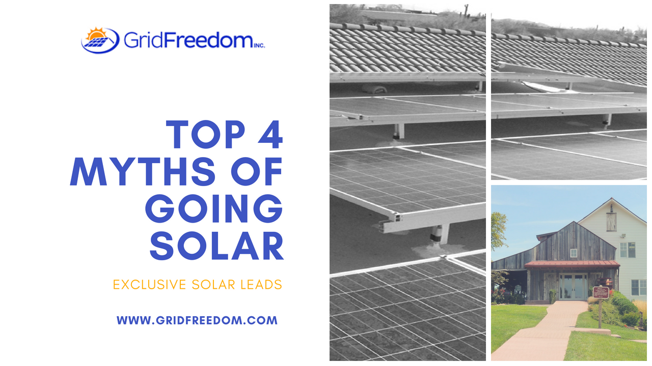 When Talking To Homeowners About Going Solar You Ve Likely Heard Many Of Them Voice Concerns That Were Based On Misconception Solar Solar Technology Homeowner