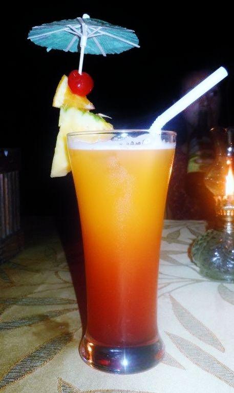 Mai Tai in Alona Beach, Panglao, Philippines. Deliciously ...