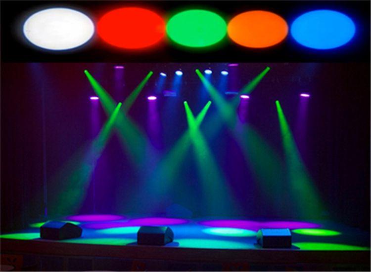 Groen Led Licht : Stks mini podium wit rood groen blauw geel kleur disco beam led
