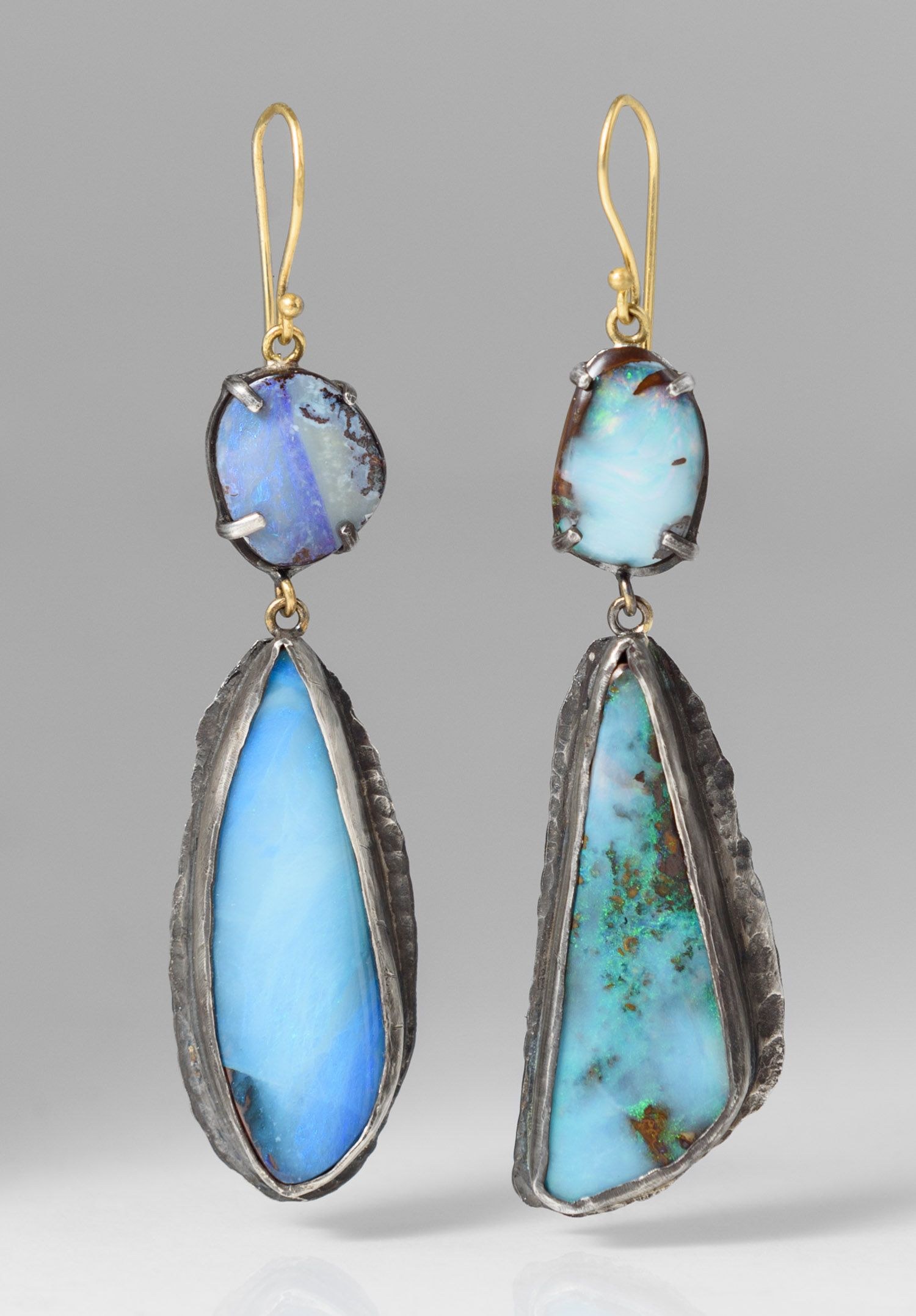 gold earrings doublet rewards product img opal