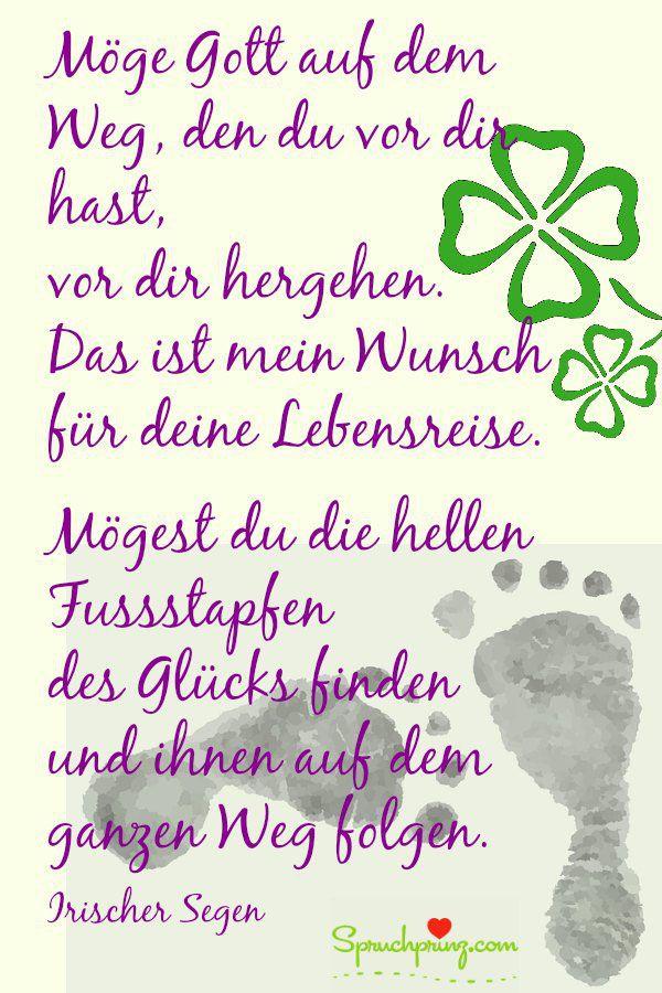 Segenswunsche Zum Geburtstag Irischer Segen Irische