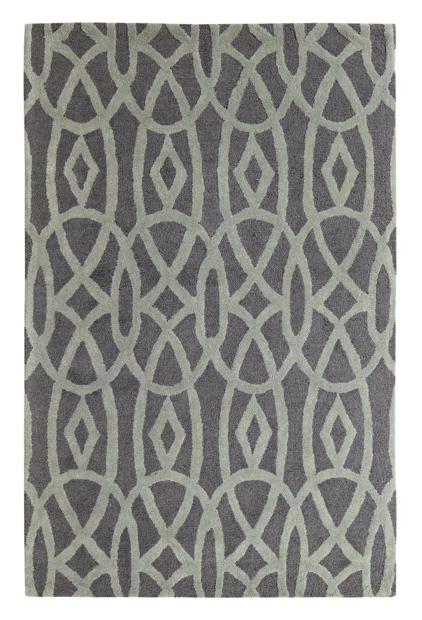 Palace Black/Grey Area Rug   Wayfair