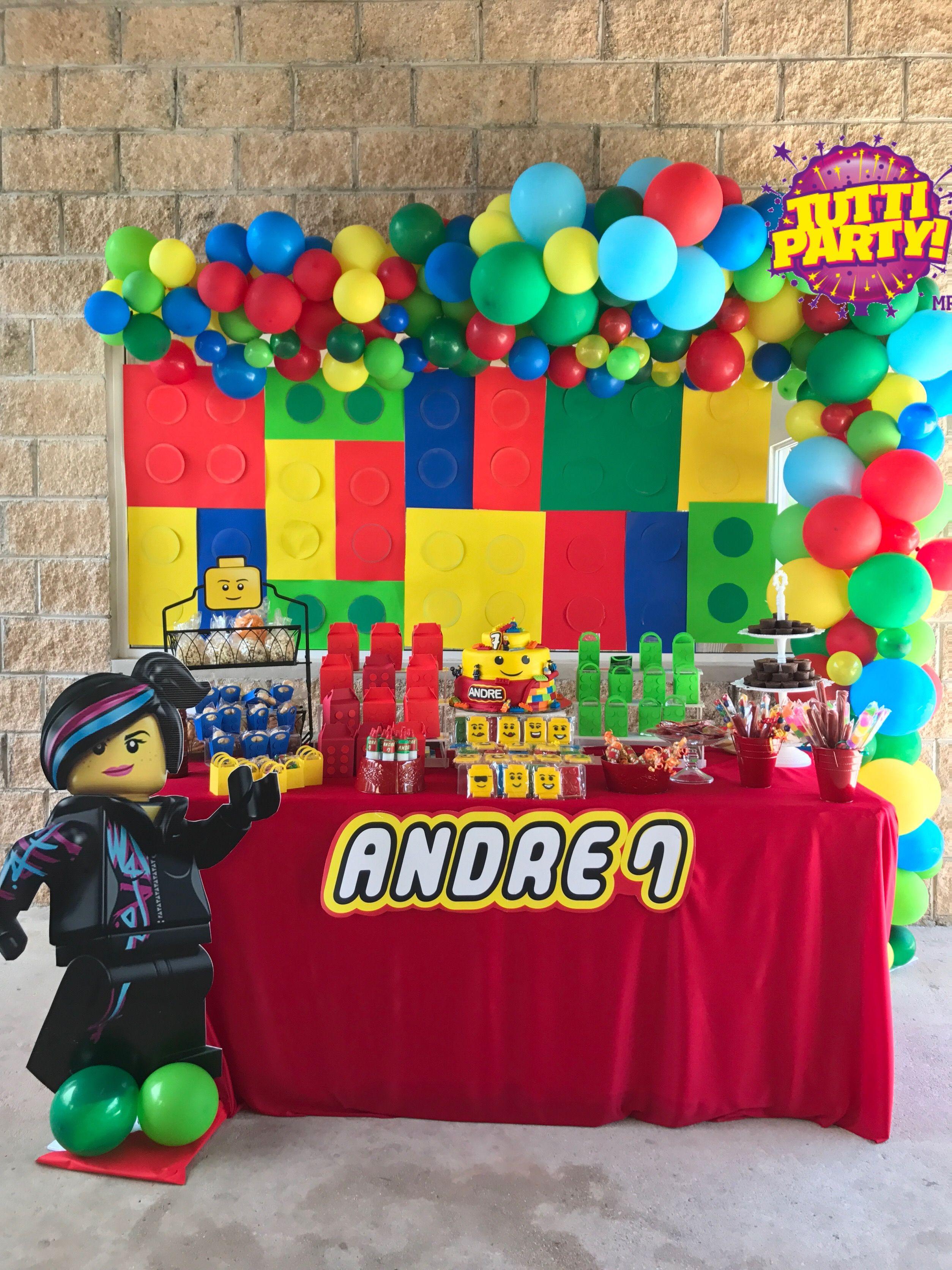 Lego party decorations, lego City party ideas, lego ...