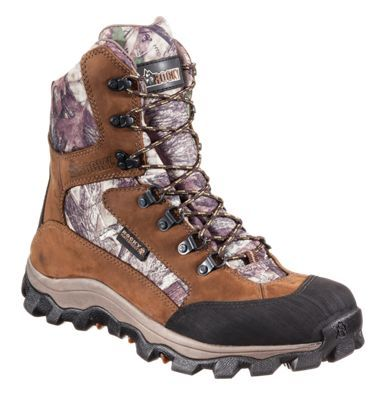 ROCKY Lynx Waterproof Insulated Hunting Boots for Men - TrueTimber HTC - 10.5M