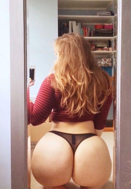 Big bubble white ass